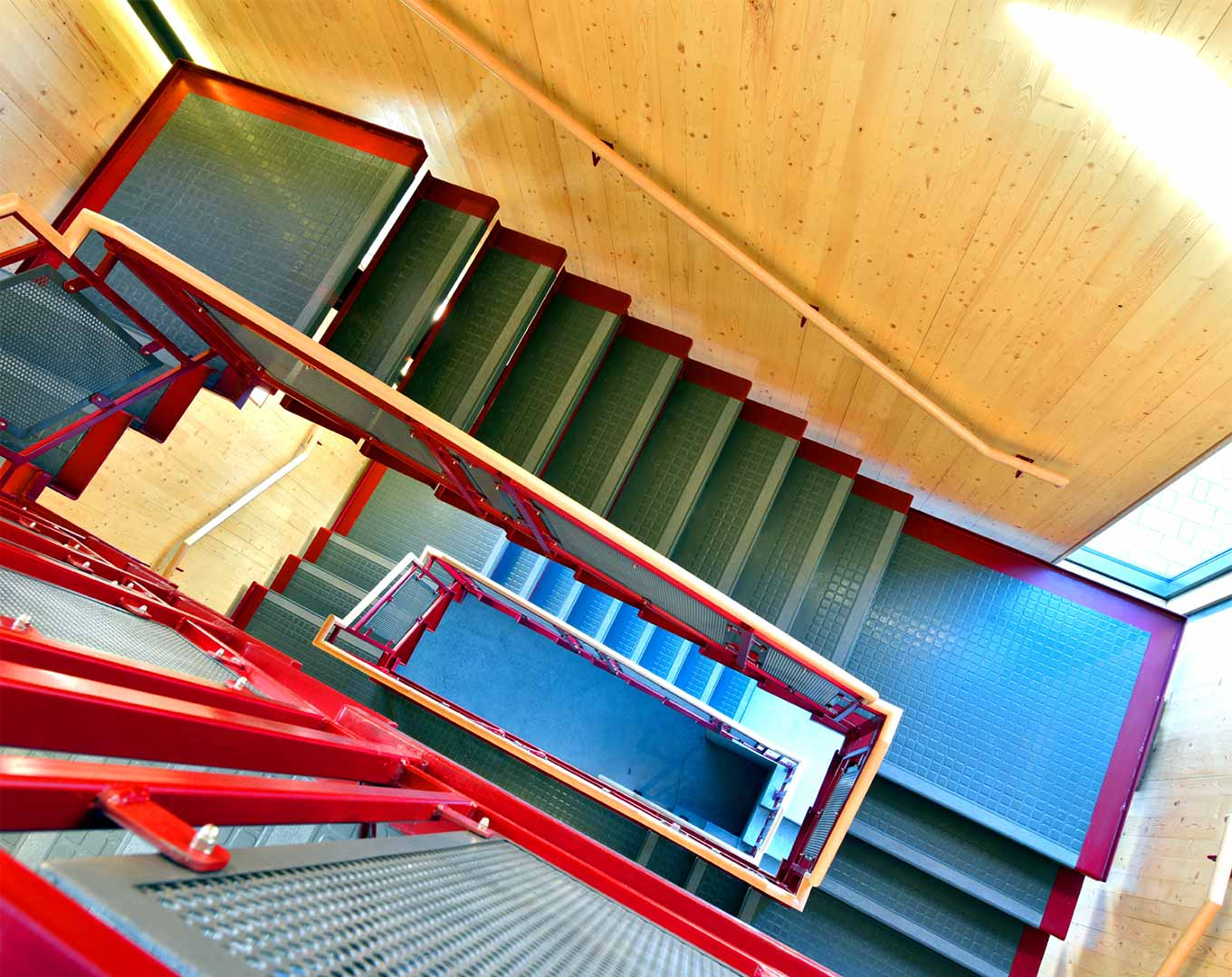 Metal Industrial Staircase