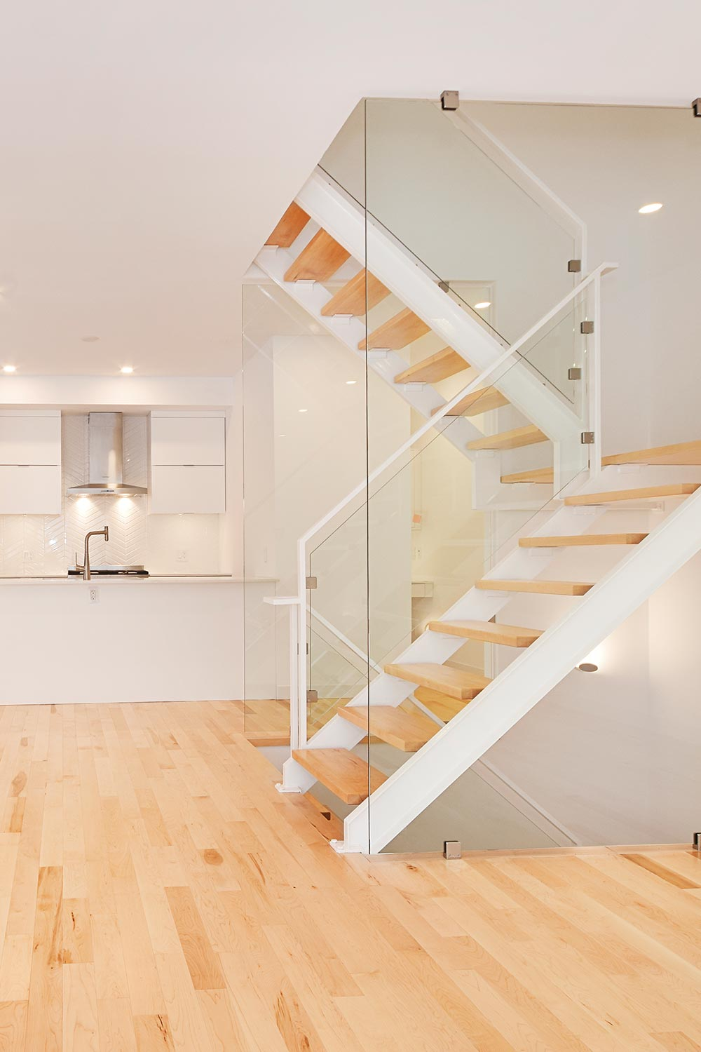 Stunning stairs and railing transforming your vision into reality.  At Branje Metal Works, we've designed and built many styles of staircases for you to choose from. If you can't find it here, we can explore your vision and together, we'll create the perfect staircase for your home.