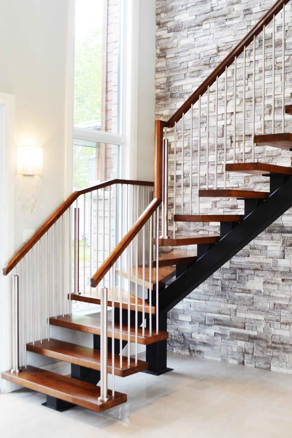 Custom stairs and railings for home builders, designers and homeowners.