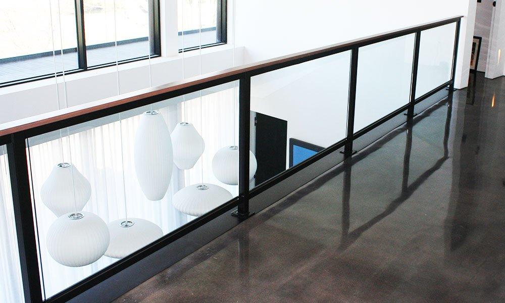 Kirk Hoppner - Metal, Glass and Wood Stairs - Second Floor